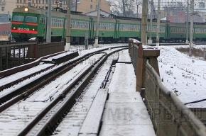 Движение поездов в Гатчину остановлено из-за рухнувшего виадука