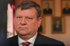 Губернатор Ленобласти Сердюков попал в пробку в Петербурге