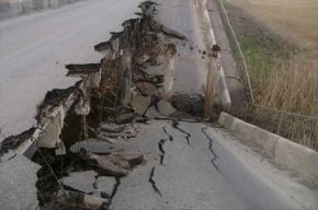 Под Самарой частично обрушился мост. Фото с места события