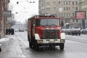 В Петербурге из горящего японского ресторана эвакуировали посетителей