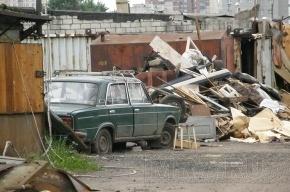 В Петербурге новая серия гаражных войн