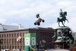 Мотофристайл на Исаакиевской: Фоторепортаж