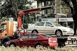 Эвакуация автомобилей: Фоторепортаж