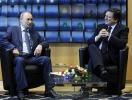 Путин и Баррозу: Фоторепортаж