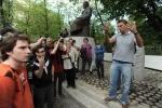 Акция оппозиции на Чистых прудах в Москве: Фоторепортаж