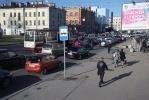 Пробки из-за закрытой Пироговской набережной: Фоторепортаж