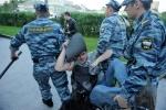 """Фоторепортаж: «Лагерь оппозиции у """"Баррикадной""""»"""