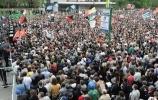 """Фоторепортаж: «В Москве начался """"Марш миллионов""""»"""