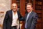 Встреча Алексея Миллера и Лучано Спаллетти: Фоторепортаж