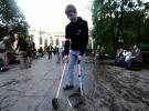 Народные гуляния на Чистых прудах: Басманный суд обязал прекратить акцию оппозиции на Чистых прудах: Фоторепортаж