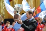 Чествование сборной России по хоккею, 29 мая 2012: Фоторепортаж