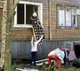 Фоторепортаж: «9 жилых домов сгорели»