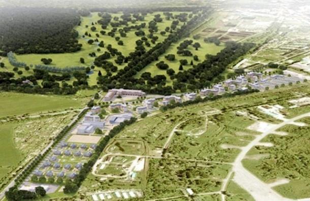 В Пушкине на месте парка хотят построить гольф-клуб с баром и сауной