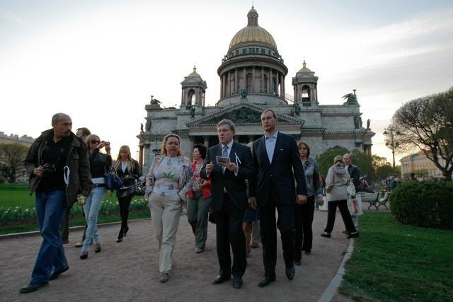 Григорий Явлинский на Исаакиевской площади: Фото