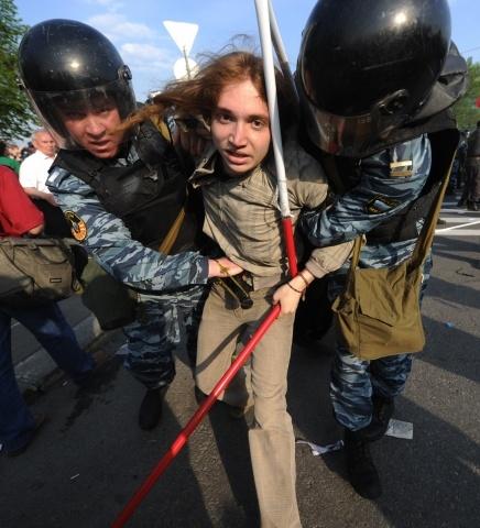 """Разгон """"Марша миллионов"""": Фото"""