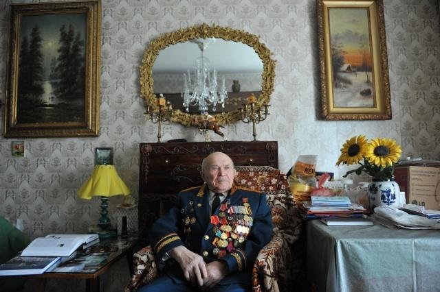Истории ветеранов в медалях: Фото