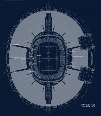 Стадион на Крестовском - новый проект: Фото