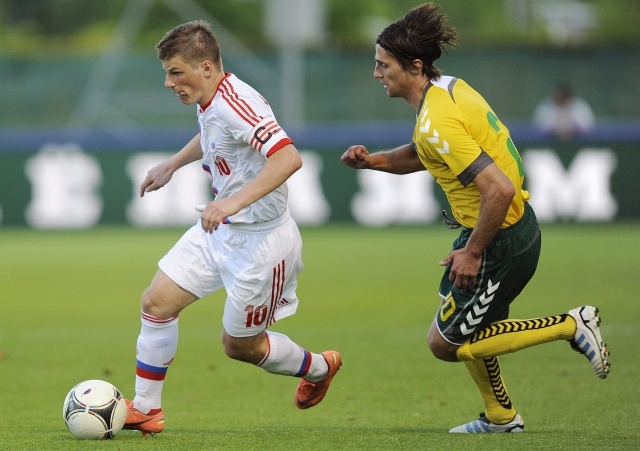 Россия - Литва 29 мая. Счет 0:0: Фото