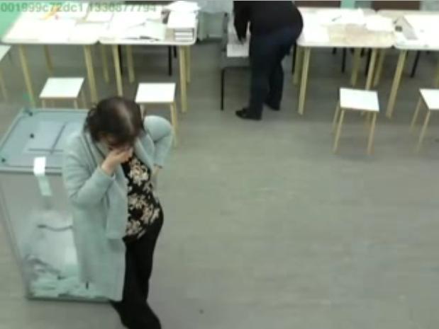 Вброс на выборах 2012: Фото