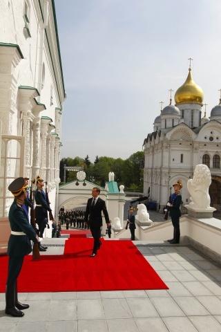 Инаугурация президента России Владимира Путина: Фото