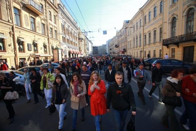 Парад победы в Петербурге : Фото