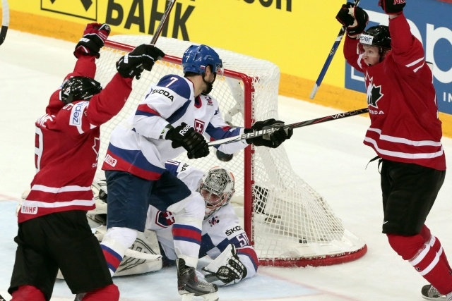 Канада - Словакия, 17 мая 2012: Фото