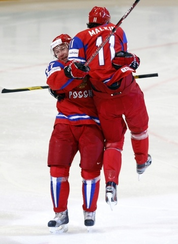 Чемпионат мира по хоккею 2012: Россия одолела Чехию одной левой: Фото