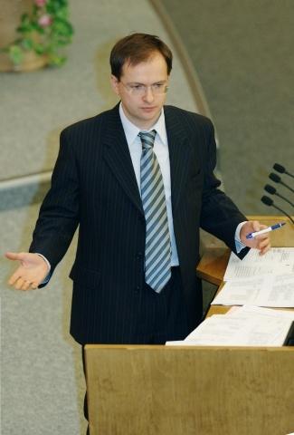 Министр культуры Владимир Мединский: Фото