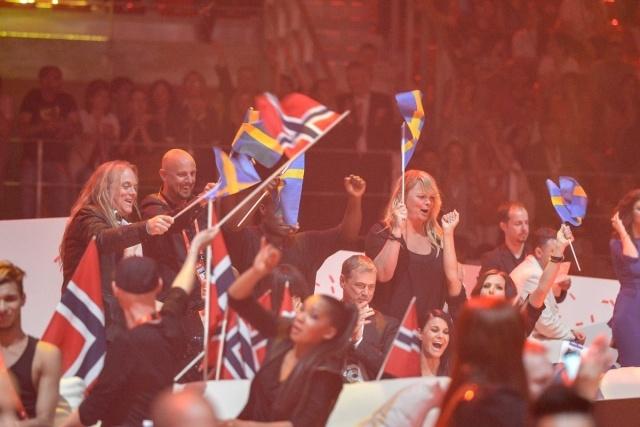 Финал конкурса Евровидение 2012: Фото