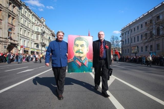 Парад ветеранов на Невском: Фото