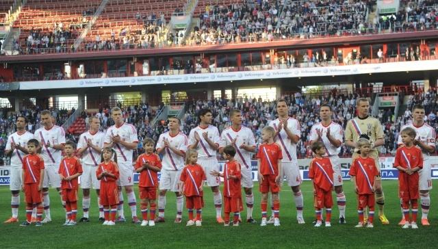 Товарищеский матч Россия-Уругвай: Фото