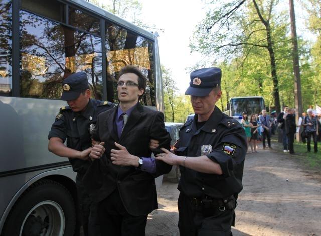 нападение на геев в Петербурге: Фото