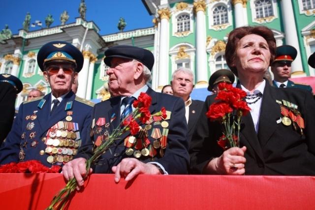 Парад победы в Петербурге 2012: Фото