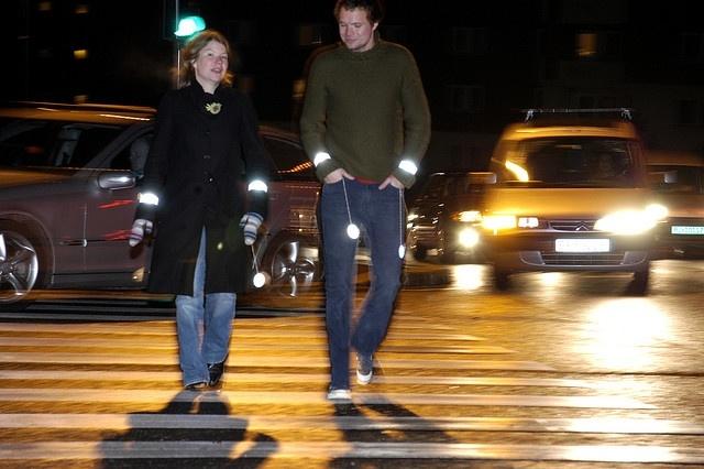 Светоотражатель для пешехода