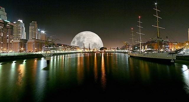 Луна и полнолуние: Фото