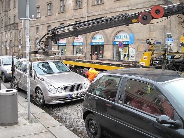 Эвакуация автомобилей: Фото