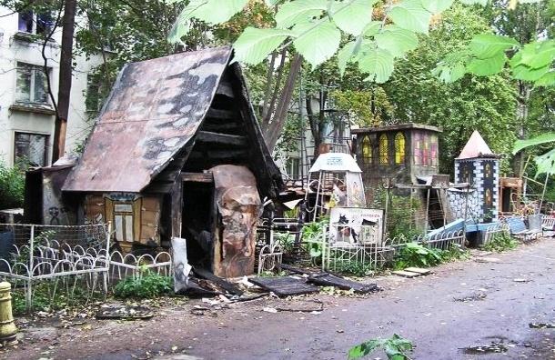 Сделай сам: как петербуржцы благоустраивают свои дворы (фото)