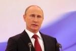 Путин прибыл на молебен в свою честь