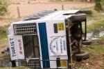 В Турции перевернулся автобус с россиянами, женщине переломало руки и ноги