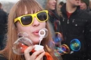 В ЦПКиО запустят десятки тысяч мыльных пузырей