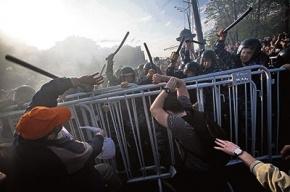 Протест расплескали на город