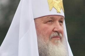 Патриарх Кирилл отслужил литургию в Никольском соборе Петербурга