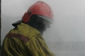 В Петербурге сгорел новый ресторан на Октябрьской набережной