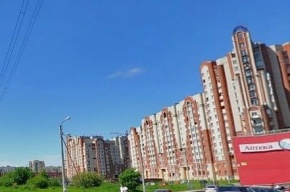 Петербуржцы перекрыли проспект Маршала Блюхера