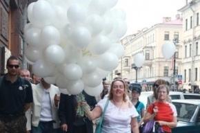 Ольгу Курносову задержали с 250 воздушными шарами