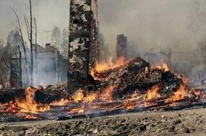 9 жилых домов сгорели из-за неосторожного обращения с огнем (Кадры)