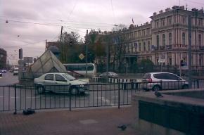 На площади Труда в Петербурге наконец-то уберут трамвайные пути