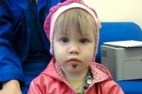 Двухлетняя «потеряшка», найденная в Петербурге, может обрести семью