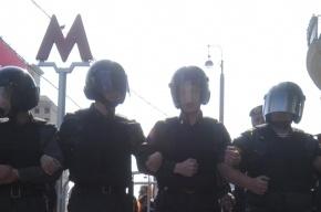 Полиция разогнала оппозиционеров у памятника Героям Плевны