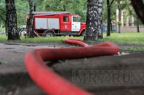 В Колпино чуть не сгорел цех Ижорских заводов